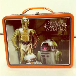 Star Wars the force awakens lunchbox